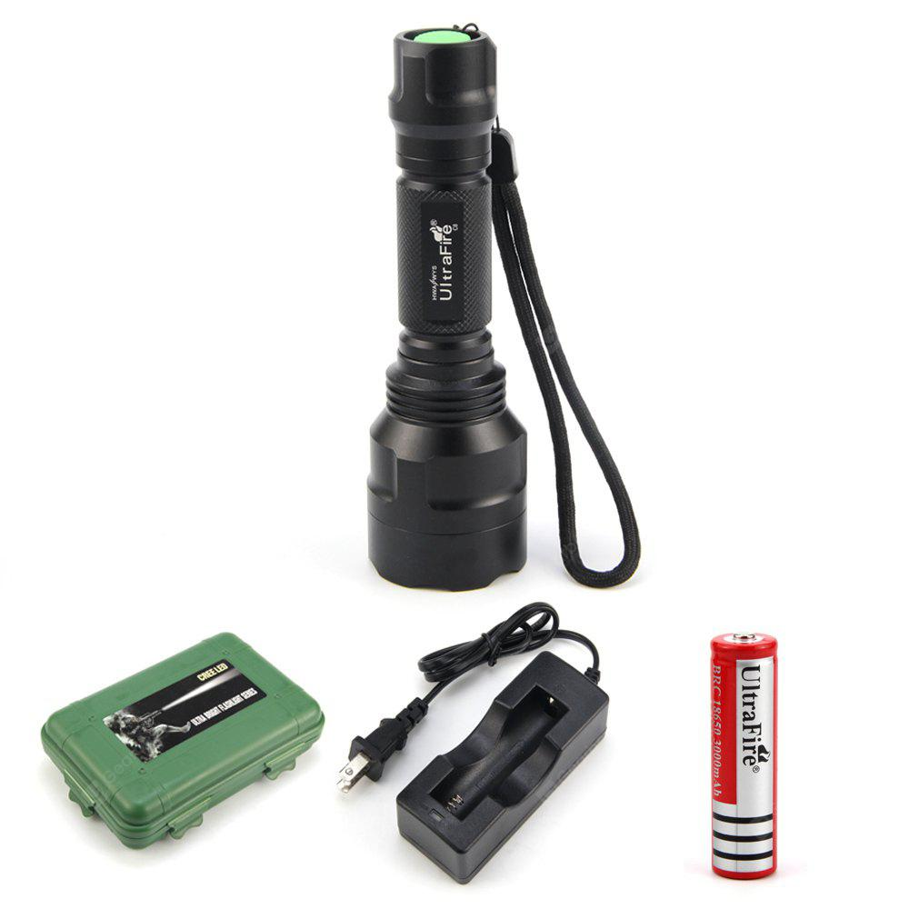 UltraFire C8 XML-T6 600LM 5-Speed Flashlight Kit