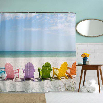 Multicolored Beach Chair Polyester Shower Curtain Bathroom Curtain High Definition 3D Printing Water-ProofOther Bathroom Accessories<br>Multicolored Beach Chair Polyester Shower Curtain Bathroom Curtain High Definition 3D Printing Water-Proof<br><br>Package Contents: 1 x Shower Curtain<br>Package size (L x W x H): 26.00 x 18.00 x 3.00 cm / 10.24 x 7.09 x 1.18 inches<br>Package weight: 0.4000 kg