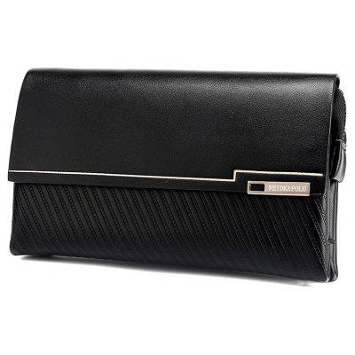 The New MenS Handbag Simple Fashion Clutch Business MenS Bag Large CapacityMens Wallets<br>The New MenS Handbag Simple Fashion Clutch Business MenS Bag Large Capacity<br><br>Closure Type: Zipper, Piston<br>Gender: For Men<br>Height: 13.5<br>Length(CM): 22.5<br>Main Material: PU<br>Package Contents: 1 x Bag<br>Package size (L x W x H): 23.50 x 6.00 x 14.50 cm / 9.25 x 2.36 x 5.71 inches<br>Package weight: 0.4000 kg<br>Pattern Type: Solid<br>Product weight: 0.3000 kg<br>Style: Casual<br>Wallets Type: Money Clip<br>Width: 5