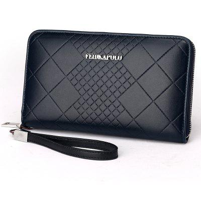 Men'S Handbag Embossed Men'S Bag Fashion Business Multi-Card Bulk Wallet