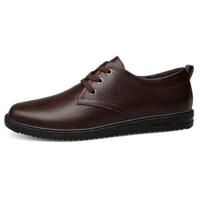 Four Seasons Leather Rubber Business Casual ShoesMen's Oxford<br>Four Seasons Leather Rubber Business Casual Shoes<br><br>Available Size: 39 40 41 42 43 44<br>Closure Type: Lace-Up<br>Embellishment: Fur<br>Gender: For Men<br>Outsole Material: Rubber<br>Package Contents: 1xshoes(pair)<br>Pattern Type: Solid<br>Season: Summer, Winter, Spring/Fall<br>Toe Shape: Round Toe<br>Toe Style: Closed Toe<br>Upper Material: Full Grain Leather<br>Weight: 1.6896kg