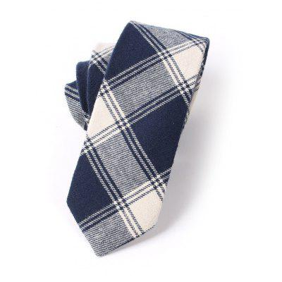 Casual Men'S Lattice Jacquard Tie