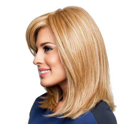 An Ebullient Hairstyle Human Hair WigsHuman Hair Wigs<br>An Ebullient Hairstyle Human Hair Wigs<br><br>Bang Type: Side<br>Cap Construction: Capless<br>Cap Size: Adjustable<br>Gender: Female<br>Length: Medium<br>Package Contents: 1xWIGS<br>Package size (L x W x H): 28.00 x 16.00 x 5.00 cm / 11.02 x 6.3 x 1.97 inches<br>Package weight: 0.2700 kg<br>Style: Natural Straight<br>Type: Full Wigs