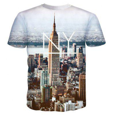 Street Fashion Personality and Creative 3D Printed T-Shirt Hot StyleMens T-shirts<br>Street Fashion Personality and Creative 3D Printed T-Shirt Hot Style<br><br>Collar: Round Neck<br>Material: Polyester<br>Package Contents: 1xT-shirt<br>Pattern Type: Print<br>Sleeve Length: Short Sleeves<br>Style: Fashion<br>Weight: 0.2000kg