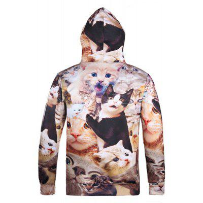 Street Style Hot Style Creative Surprise Cat 3D Digital Printed HoodieMens Hoodies &amp; Sweatshirts<br>Street Style Hot Style Creative Surprise Cat 3D Digital Printed Hoodie<br><br>Material: Polyester<br>Package Contents: 1xhoodie<br>Shirt Length: Regular<br>Sleeve Length: Full<br>Style: Fashion<br>Weight: 0.4000kg