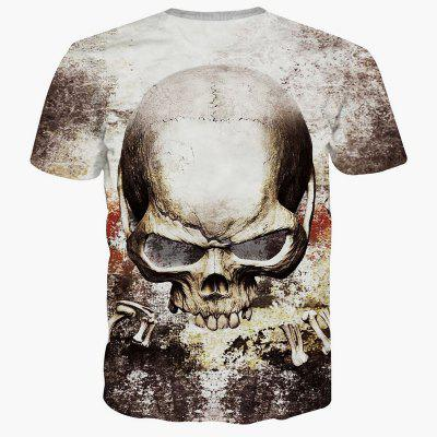 Summer Fashion Leisure Creative Skull 3D Digital Printed Short-Sleeved T-Shirt Hot StyleMens T-shirts<br>Summer Fashion Leisure Creative Skull 3D Digital Printed Short-Sleeved T-Shirt Hot Style<br><br>Collar: Round Neck<br>Material: Polyester<br>Package Contents: 1xT-shirt<br>Pattern Type: Skulls<br>Sleeve Length: Short Sleeves<br>Style: Fashion<br>Weight: 0.2000kg