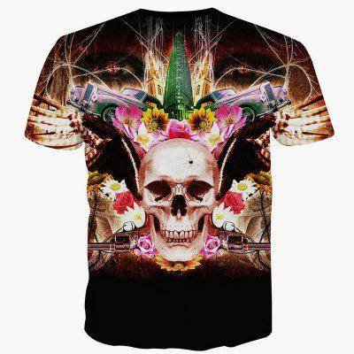 Summer Fashion Casual Creative Skull 3D Printed T-Shirt Hot StyleMens T-shirts<br>Summer Fashion Casual Creative Skull 3D Printed T-Shirt Hot Style<br><br>Collar: Round Neck<br>Material: Polyester<br>Package Contents: 1xT-shirt<br>Pattern Type: Skulls<br>Sleeve Length: Short Sleeves<br>Style: Fashion<br>Weight: 0.2000kg