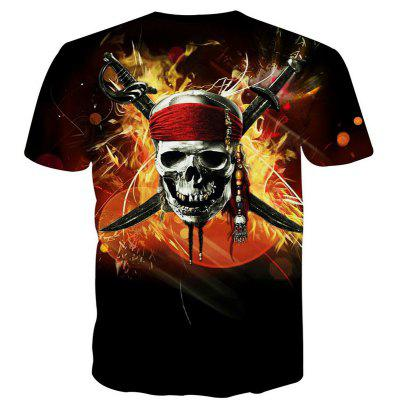 Summer Fashion Leisure Personality Creative Pirate Skull 3D Printed T-Shirt Hot StyleMens T-shirts<br>Summer Fashion Leisure Personality Creative Pirate Skull 3D Printed T-Shirt Hot Style<br><br>Collar: Round Neck<br>Material: Polyester<br>Package Contents: 1xT-shirt<br>Pattern Type: Skulls<br>Sleeve Length: Short Sleeves<br>Style: Fashion<br>Weight: 0.2000kg