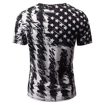 Summer Fashion Casual Creative Stars 3D Digital Printed Short-Sleeved T-Shirt Hot StyleMens T-shirts<br>Summer Fashion Casual Creative Stars 3D Digital Printed Short-Sleeved T-Shirt Hot Style<br><br>Collar: Round Neck<br>Material: Polyester<br>Package Contents: 1xT-shirt<br>Pattern Type: Star<br>Sleeve Length: Short Sleeves<br>Style: Fashion<br>Weight: 0.2000kg