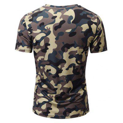 Summer Fashion Leisure Individuality Creative Camouflage 3D Digital Printed Short-Sleeved T-Shirt Hot StyleMens T-shirts<br>Summer Fashion Leisure Individuality Creative Camouflage 3D Digital Printed Short-Sleeved T-Shirt Hot Style<br><br>Collar: V-Neck<br>Material: Polyester<br>Package Contents: 1xT-shirt<br>Pattern Type: Print<br>Sleeve Length: Short Sleeves<br>Style: Fashion<br>Weight: 0.2000kg