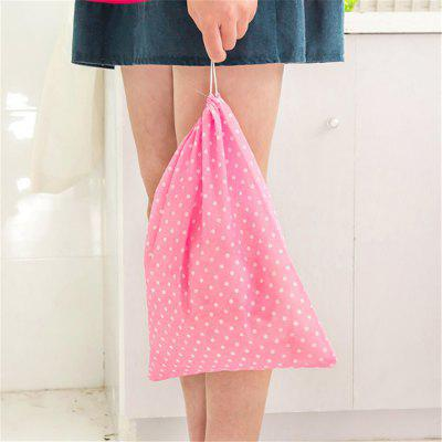 Non-Woven Shoes Storage Bags Portable Drawstring Beam Bag Dust Shoes Bags Travel Bag