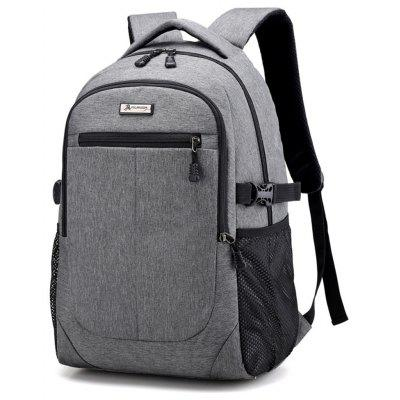 Oxford Cloth Student Men Lady Travel BackpackBackpacks<br>Oxford Cloth Student Men Lady Travel Backpack<br><br>For: Traveling, Climbing, Fishing, Cycling, Camping, Hiking, Adventure<br>Material: 1860D Oxford Fabric<br>Package Contents: 1 x Bag<br>Package size (L x W x H): 35.00 x 25.00 x 55.00 cm / 13.78 x 9.84 x 21.65 inches<br>Package weight: 0.7000 kg<br>Product size (L x W x H): 33.00 x 20.00 x 50.00 cm / 12.99 x 7.87 x 19.69 inches<br>Product weight: 0.6500 kg<br>Type: Backpack