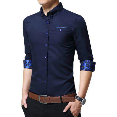 Spring and Autumn MenS Cotton Fashion Pure Color Commercial Leisure Long Sleeved Shirt TrendMens Shirts<br>Spring and Autumn MenS Cotton Fashion Pure Color Commercial Leisure Long Sleeved Shirt Trend<br><br>Collar: Turn-down Collar<br>Material: Cotton<br>Package Contents: 1xshirts<br>Shirts Type: Casual Shirts<br>Sleeve Length: Full<br>Weight: 0.5000kg