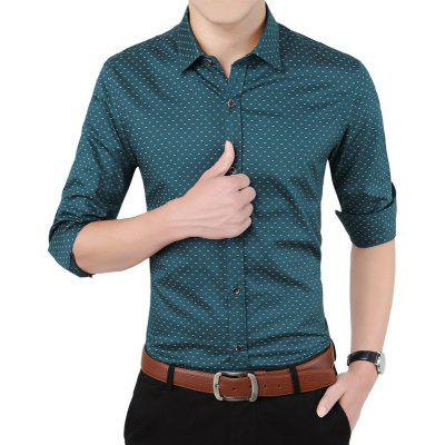 Autumn Long Sleeved Pure Cotton Leisure ShirtMens Shirts<br>Autumn Long Sleeved Pure Cotton Leisure Shirt<br><br>Collar: Turn-down Collar<br>Material: Cotton<br>Package Contents: 1xshirt<br>Shirts Type: Casual Shirts<br>Sleeve Length: Full<br>Weight: 0.5000kg
