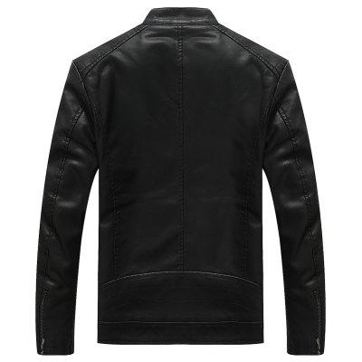 Autumn and Winter MenS Coat Repair Fashion  Jacket Youth Business Leisure Leather Clothes Baseball SuitMens Jackets &amp; Coats<br>Autumn and Winter MenS Coat Repair Fashion  Jacket Youth Business Leisure Leather Clothes Baseball Suit<br><br>Closure Type: Zipper<br>Clothes Type: Leather &amp; Suede<br>Collar: Stand Collar<br>Color Style: Solid<br>Colors: Black,Blue,Deep Brown<br>Detachable Part: None<br>Hooded: No<br>Materials: Polyester, Leather, PU, Cotton<br>Package Content: 1?coat<br>Package size (L x W x H): 1.00 x 1.00 x 1.00 cm / 0.39 x 0.39 x 0.39 inches<br>Package weight: 0.8000 kg<br>Pattern Type: Solid<br>Size1: M,L,XL,2XL,3XL<br>Style: Casual<br>Technics: Other<br>Thickness: Medium thickness