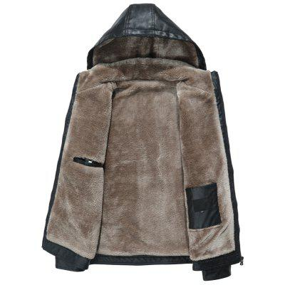 Winter Fashion Handsome Fur Caps Cashmere Thick OvercoatsMens Jackets &amp; Coats<br>Winter Fashion Handsome Fur Caps Cashmere Thick Overcoats<br><br>Closure Type: Zipper<br>Clothes Type: Leather &amp; Suede<br>Collar: Hooded<br>Color Style: Solid<br>Colors: Black,Red,Brown<br>Hooded: Yes<br>Materials: PU, Leather, Polyester, Cotton<br>Package Content: 1?coat<br>Package size (L x W x H): 1.00 x 1.00 x 1.00 cm / 0.39 x 0.39 x 0.39 inches<br>Package weight: 1.0000 kg<br>Pattern Type: Solid<br>Size1: M,L,XL,2XL,3XL<br>Style: Fashion<br>Technics: Other<br>Thickness: Thickening