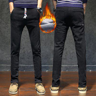 Men Thick Velvet Business Casual PantsMens Pants<br>Men Thick Velvet Business Casual Pants<br><br>Closure Type: Drawstring<br>Elasticity: Elastic<br>Fabric Type: Broadcloth<br>Fit Type: Skinny<br>Front Style: Flat<br>Length: Normal<br>Material: Cotton, Polyester, Spandex<br>Package Contents: 1xPants<br>Package size (L x W x H): 1.00 x 1.00 x 1.00 cm / 0.39 x 0.39 x 0.39 inches<br>Package weight: 0.5000 kg<br>Pant Style: Straight<br>Pattern Type: Solid<br>Style: Casual<br>Thickness: Thick<br>Waist Type: Mid