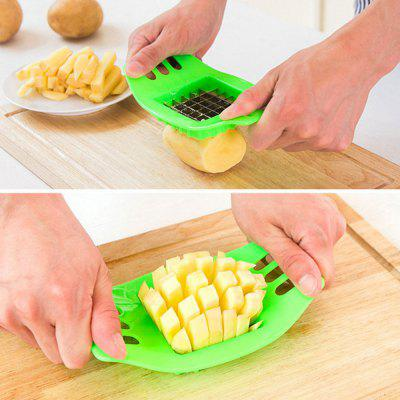 Stainless steel potato cutting device square slicers cut fries device