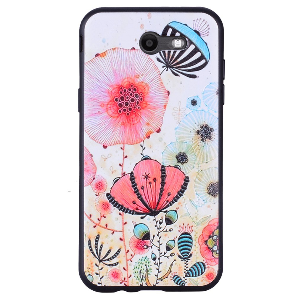 Case For Samsung Galaxy J3 2017 J320 U.S. of The Pink Floral TPU Phone Case