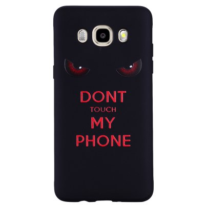Case For Samsung Galaxy J5 2016 J510 Red Eye TPU Phone Protection Shell