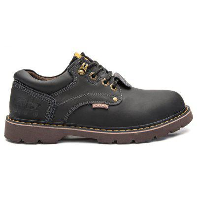 New Outdoor Plus Velvet Leather Fashion Higher Martin Boots