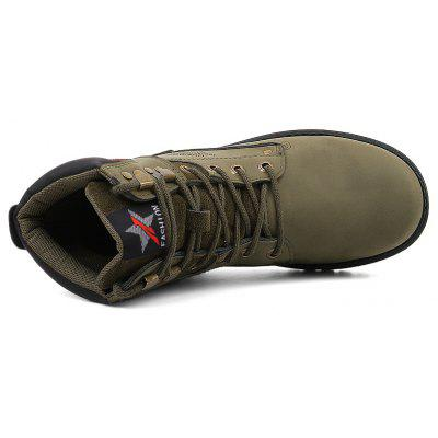 """New MenS High-Color High-Top Martin BootsMens Boots<br>New MenS High-Color High-Top Martin Boots<br><br>Boot Height: Ankle<br>Boot Type: Riding/Equestrian<br>Closure Type: Lace-Up<br>Embellishment: None<br>Gender: For Men<br>Heel Hight: Low(0.75""""-1.5"""")<br>Heel Type: Flat Heel<br>Outsole Material: Rubber<br>Package Contents: 1xshoes(pair)<br>Pattern Type: Solid<br>Season: Winter<br>Toe Shape: Round Toe<br>Upper Material: PU<br>Weight: 1.5840kg"""