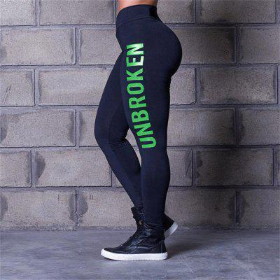 Women Leggings Yoga PantsPants<br>Women Leggings Yoga Pants<br><br>Elasticity: Super-elastic<br>Material: Polyester, Spandex<br>Package Contents: 1xleggings<br>Pattern Type: Letter<br>Style: Fashion<br>Waist Type: Mid<br>Weight: 0.1500kg