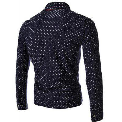 British Fashion Wave Men S Casual Long - Sleeved POLO ShirtMens T-shirts<br>British Fashion Wave Men S Casual Long - Sleeved POLO Shirt<br><br>Collar: Turn-down Collar<br>Color Style: Solid<br>Fabric Type: Jersey<br>Material: Cotton, Polyester<br>Package Contents: 1xShirt<br>Pattern Type: Polka Dot<br>Sleeve Length: Full<br>Style: Fashion<br>Type: Regular<br>Weight: 0.3000kg