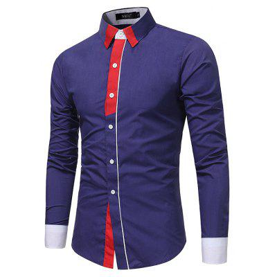 Men S Fashion Personality Hit Color Long - Sleeved Casual Shirt Men S Business Shirt 7686Mens Shirts<br>Men S Fashion Personality Hit Color Long - Sleeved Casual Shirt Men S Business Shirt 7686<br><br>Collar: Turn-down Collar<br>Material: Polyester<br>Package Contents: 1x Shirt<br>Shirts Type: Casual Shirts<br>Sleeve Length: Full<br>Weight: 0.2300kg