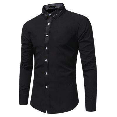 Men S Fashion Business Dress Long Sleeve Shirt Male Solid Color Wild Slim Shirt 7685Mens Shirts<br>Men S Fashion Business Dress Long Sleeve Shirt Male Solid Color Wild Slim Shirt 7685<br><br>Collar: Turn-down Collar<br>Material: Polyester<br>Package Contents: 1x Shirt<br>Shirts Type: Casual Shirts<br>Sleeve Length: Full<br>Weight: 0.2300kg