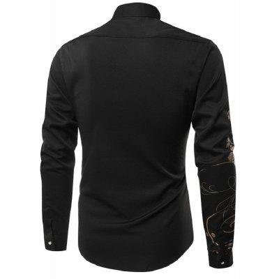 MenS Clothing Fashion Printed Long-Sleeved Shirt C139Mens Shirts<br>MenS Clothing Fashion Printed Long-Sleeved Shirt C139<br><br>Collar: Turn-down Collar<br>Material: Polyester<br>Package Contents: 1x Shirt<br>Shirts Type: Casual Shirts<br>Sleeve Length: Full<br>Weight: 0.2300kg