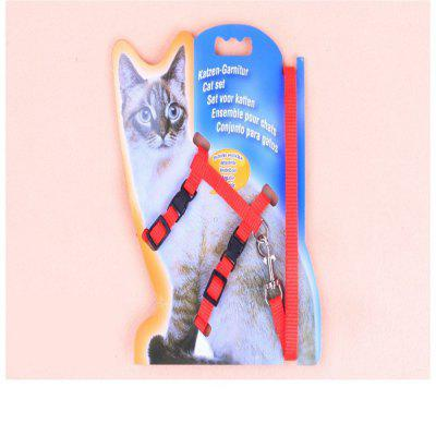 Best Selling 3-COLOR Nylon Products for Cats Cats Harness and Straps Adjustable Pet Towing Harness with Kittens