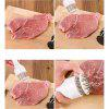Kitchen gadgets Steak Pork Chopsticks Quick Stainless Steel Tender Pork Tenderloin Hammer - WHITE