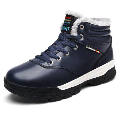 "MenS Fashion Bullock High Shoes Big Size Shoes Cotton Shoes Snow BootsMens Boots<br>MenS Fashion Bullock High Shoes Big Size Shoes Cotton Shoes Snow Boots<br><br>Boot Height: Ankle<br>Boot Type: Snow Boots<br>Closure Type: Lace-Up<br>Embellishment: None<br>Gender: For Men<br>Heel Hight: Flat(0-0.5"")<br>Heel Type: Low Heel<br>Outsole Material: Rubber<br>Package Contents: 1 x Shoes Pair<br>Pattern Type: Others<br>Season: Winter<br>Shoe Width: Wide(C/D/W)<br>Toe Shape: Round Toe<br>Upper Material: PU<br>Weight: 1.2000kg"