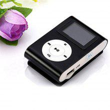 USB Clip MP3 Player LCD Screen Support 32GB Micro SD TF Card