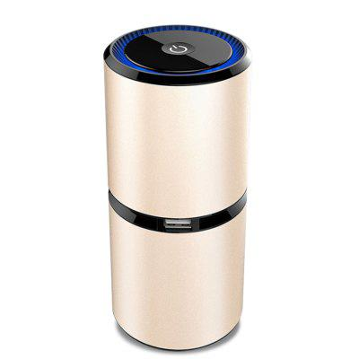 Car Anion Bactericidal and Dispelling PM2.5 Dual USB Port Air Purifier