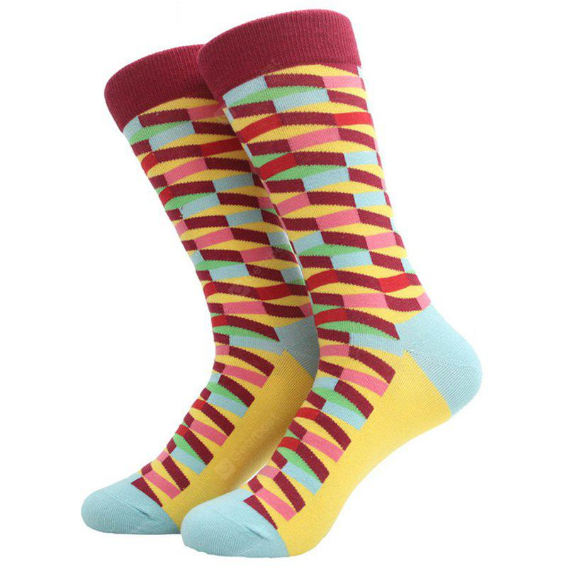 Colorful Male Cotton and Stockings for Wedding Gift
