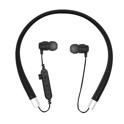 Wireless Neckband Earbuds Bluetooth Headphones Stereo Headset Hand-Free Sports In-Ear Noise Cancelling Earphones