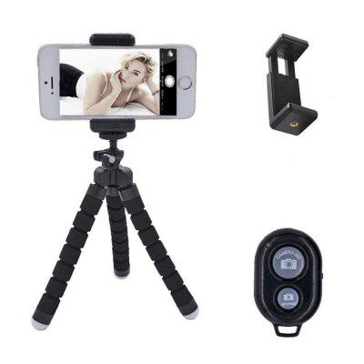 Mobile Phone Universal Bluetooth Self Timer Photograph Suit Bracket Three Foot Frame