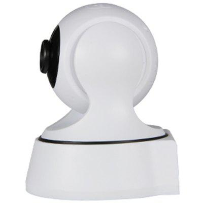 IPC19WR H.264 HD WiFi IP Camera Wireless Netcam Baby Monitor Home Office Security SystemIP Cameras<br>IPC19WR H.264 HD WiFi IP Camera Wireless Netcam Baby Monitor Home Office Security System<br><br>Audio Input: Built-in mic.<br>Audio Output: Built-in speaker<br>Compatible Operation Systems: Windows 7,Windows 8,Microsoft Windows 98/ ME /2000/ XP,Android,IOS<br>Features: HD<br>FOV: 60 Degree<br>Interface: TF Card Slot<br>IP camera performance: White Balance, Interphone, Night Vision, Motion Detection, Remote Control, Backlight Compensation<br>Language: English,French,Spanish,Portuguese,Russian,German,Italian,Japanese,Korean,Tagalog,Hindi,Simplified / TraditionalChinese<br>Maximum Monitoring Range: 10<br>Model: IPC19WR<br>Motion Detection Distance: 5<br>Operate Temperature (?): -10 - 50<br>Package Contents: 1 x IP Camera, 1 x English User Manual, 1 x Power Supply<br>Package size (L x W x H): 13.00 x 11.50 x 12.50 cm / 5.12 x 4.53 x 4.92 inches<br>Package weight: 0.4500 kg<br>Pixels: 1MP<br>Product size (L x W x H): 12.80 x 10.50 x 13.10 cm / 5.04 x 4.13 x 5.16 inches<br>Product weight: 0.2000 kg<br>Protocol: SMTP,DHCP,DNS,UPNP,TCP,IP<br>Resolution: 1280 x 720<br>Shape: Mini Camera<br>Technical Feature: WiFi, Pan Tilt Zoom<br>Video Resolution: 720P<br>Waterproof: No<br>WiFi Distance: 10<br>Wireless: WiFi 802.11 b/g/n<br>Working Voltage: 5V