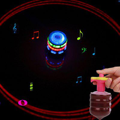 Colorful Lights Gyro Toys Fidget Spinner with MusicNovelty Toys<br>Colorful Lights Gyro Toys Fidget Spinner with Music<br><br>Features: Creative Toy, Musical<br>Materials: ABS<br>Package Contents: 1 x Fidget Spinner<br>Package size: 10.00 x 8.00 x 8.00 cm / 3.94 x 3.15 x 3.15 inches<br>Package weight: 0.1300 kg<br>Series: Entertainment,Fashion,Lifestyle<br>Theme: Family,Holiday,Music,Trick