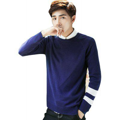 Slim Fashion Casual Fashion SweaterMens Sweaters &amp; Cardigans<br>Slim Fashion Casual Fashion Sweater<br><br>Collar: Collarless<br>Material: Polyester<br>Package Contents: 1 x Sweater<br>Package size (L x W x H): 1.00 x 1.00 x 1.00 cm / 0.39 x 0.39 x 0.39 inches<br>Package weight: 0.9600 kg<br>Size1: M,L,XL,2XL,3XL<br>Sleeve Length: Full<br>Type: Cardigans