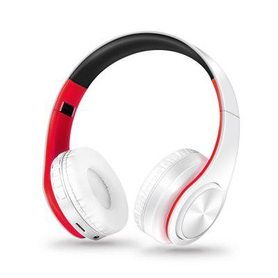 Universal Foldable Bluetooth Wireless Headset for Computer and Mobile Phone