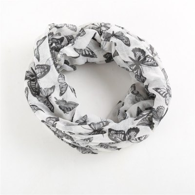 W1028 butterfly print Bali yarn scarfScarves<br>W1028 butterfly print Bali yarn scarf<br><br>Elasticity: Micro-elastic<br>Gender: For Women<br>Group: Adult<br>Material: Acrylic<br>Package Contents: 1*scarf<br>Package size (L x W x H): 1.00 x 1.00 x 1.00 cm / 0.39 x 0.39 x 0.39 inches<br>Package weight: 0.0800 kg<br>Product weight: 0.0800 kg<br>Scarf Type: Ring<br>Season: Winter, Fall, Spring<br>Style: Fashion