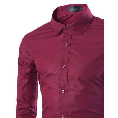 Pure Fashion Business All-Match Mens Long Sleeve ShirtMens Shirts<br>Pure Fashion Business All-Match Mens Long Sleeve Shirt<br><br>Collar: Turn-down Collar<br>Fabric Type: Broadcloth<br>Material: Cotton, Polyester<br>Package Contents: 1 X shirt<br>Shirts Type: Formal Shirts<br>Sleeve Length: Full<br>Weight: 0.3000kg