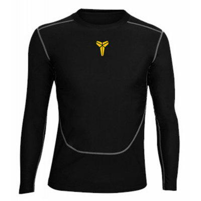 Tight Fitness Long-Sleeved Shirt Basketball ClothesSports Clothing<br>Tight Fitness Long-Sleeved Shirt Basketball Clothes<br><br>Elasticity: Micro-elastic<br>Material: Cotton<br>Package Contents: 1 x Tshirt<br>Pattern Type: Others<br>Weight: 0.5000kg
