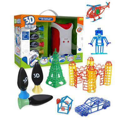 Kids 3D DIY Forming Machine Creative Mini DIY ToyScience &amp; Discovery Toys<br>Kids 3D DIY Forming Machine Creative Mini DIY Toy<br><br>Completeness: Finished Goods<br>Gender: Boys,Girls<br>Materials: ABS<br>Package Contents: 1 x Forming Machine<br>Package size: 40.00 x 14.00 x 28.00 cm / 15.75 x 5.51 x 11.02 inches<br>Package weight: 2.1000 kg<br>Product weight: 2.0000 kg<br>Stem From: Other<br>Theme: Science