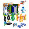 Kid's 3D DIY Forming Machine Creative Mini DIY Toy - BLUE