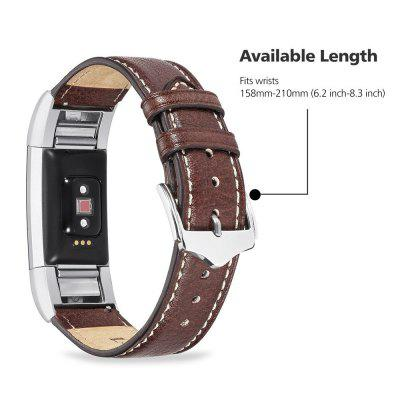 Benuo for Fitbit Charge 2 Genuine LeatherApple Watch Bands<br>Benuo for Fitbit Charge 2 Genuine Leather<br><br>Material: Genuine Leather<br>Package Contents: 1 x fitbit charge 2 band<br>Package size (L x W x H): 20.00 x 7.00 x 2.00 cm / 7.87 x 2.76 x 0.79 inches<br>Package weight: 0.0560 kg<br>Type: Smart watch / wristband band