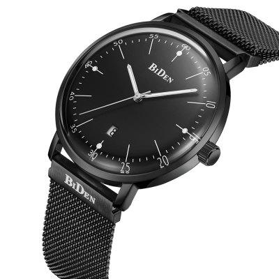 BIDEN Watches Mens Masculino Luxury Chronograp Quartz Watches Fashion Stainless Steel Mesh Milanese Loop Strapbox GiftsMens Watches<br>BIDEN Watches Mens Masculino Luxury Chronograp Quartz Watches Fashion Stainless Steel Mesh Milanese Loop Strapbox Gifts<br><br>Band material: Stainless Steel<br>Band size: 28cm x 2cm<br>Case material: Alloy<br>Clasp type: Magnetic Clasp<br>Dial size: 4cm x 4cm x 1cm<br>Display type: Analog<br>Movement type: Quartz watch<br>Package Contents: 1 x Watch,1 x Box<br>Package size (L x W x H): 10.00 x 7.50 x 7.50 cm / 3.94 x 2.95 x 2.95 inches<br>Package weight: 0.1500 kg<br>Product size (L x W x H): 28.00 x 4.00 x 1.00 cm / 11.02 x 1.57 x 0.39 inches<br>Product weight: 0.0700 kg<br>Shape of the dial: Round<br>Special features: Day<br>Watch style: Business, Fashion, Casual<br>Watches categories: Men,Male table